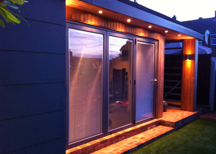 Garden rooms under 2 5 metres in height can be built right for Garden shed essex